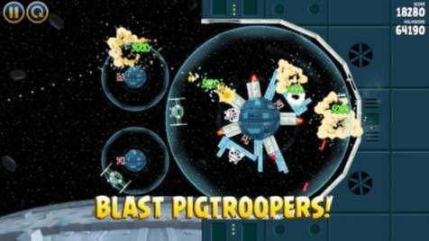 captura ecran Angry Birds Star Wars