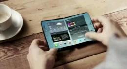terminal samsung cu ecran flexibil