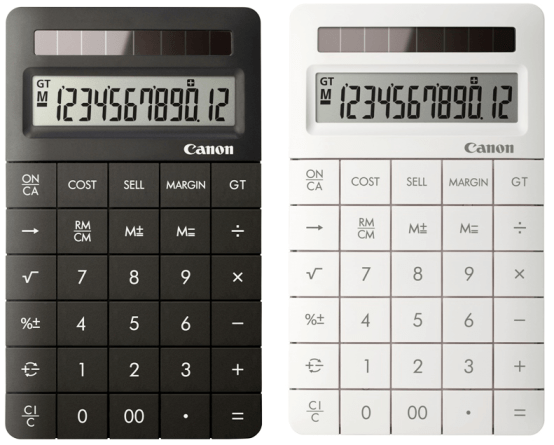 calculator-Canon-X-Mark-II
