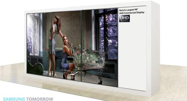 Afisaj 98 inch Ultra HD