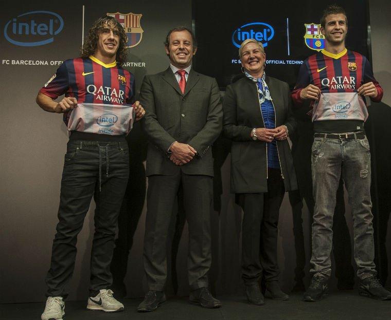 FC Barcelona si Intel au semnat un parteneriat mai special