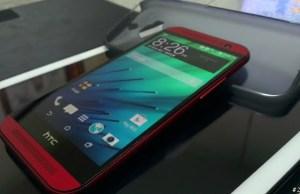 HTC One M8 Rosu