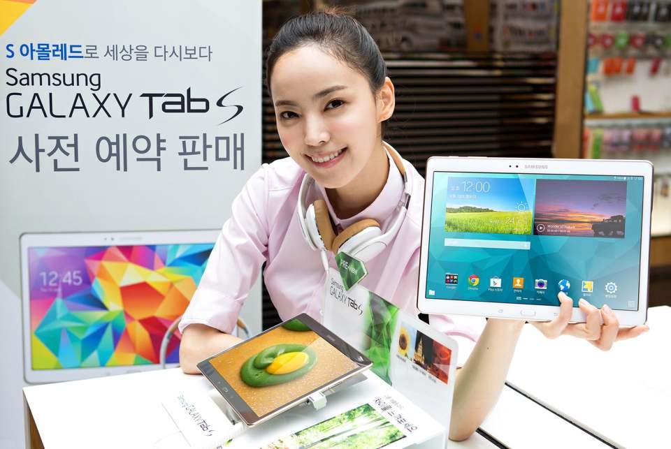 precomanda Galaxy Tab S