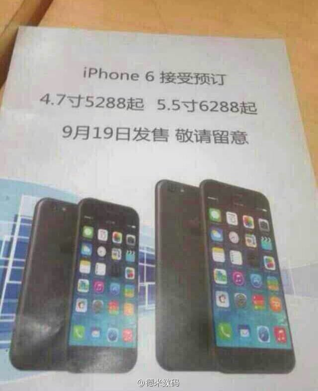 Data lansarii iPhone 6