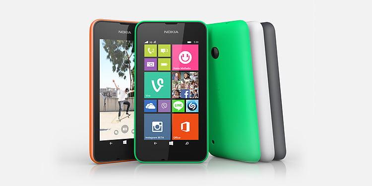 lumia 530 lansat