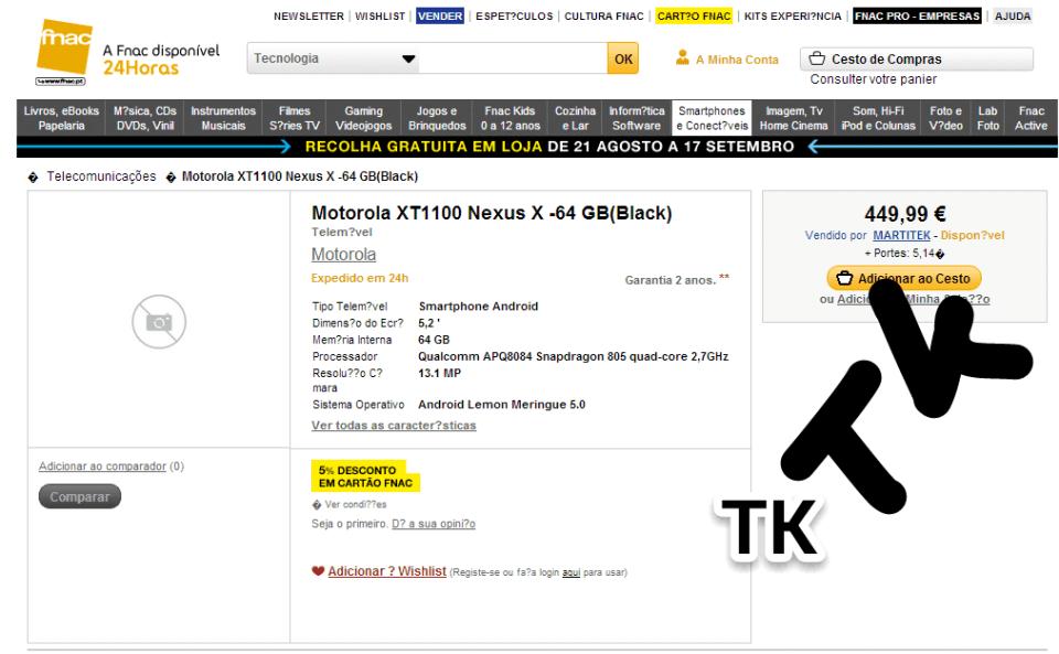 Motorola XT1100
