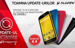 V1 Viper i primeste Android 4.4
