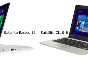 Satellite Radius 11 si Satellite CL10-B