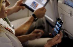 utilizarea gadgeturilor in timpul zborului AESA