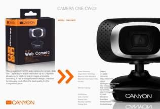 canyon accesorii de sarbatori web camera 2