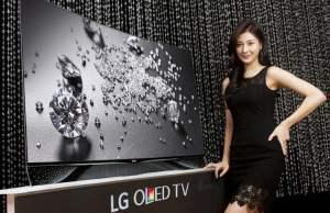televizorul premium OLED cu cristale Swarovski