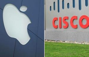 Parteneriat Apple cu Cisco