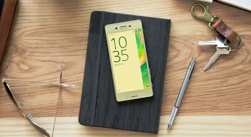 telefoanele Sony Xperia X
