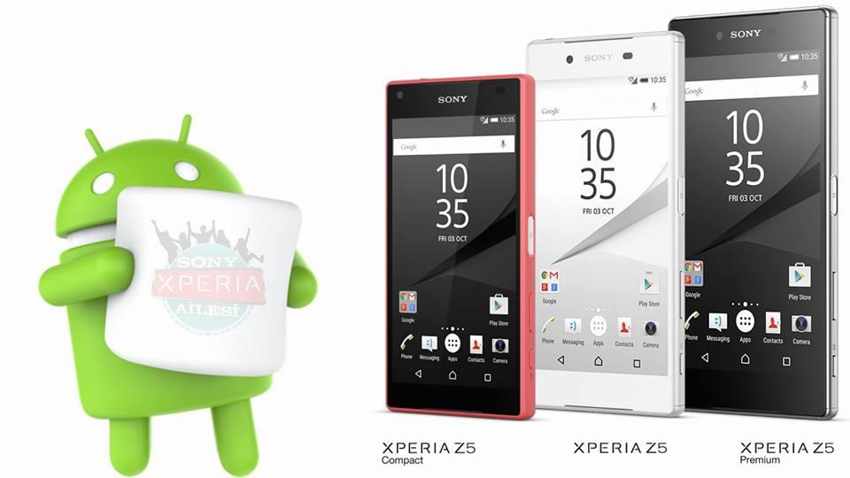 Telefoanele Xperia Z5 primesc actualizare Android 6.0