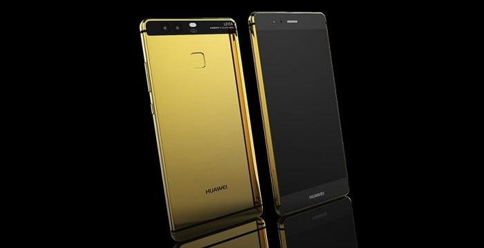Huawei P9 placat cu aur 24k