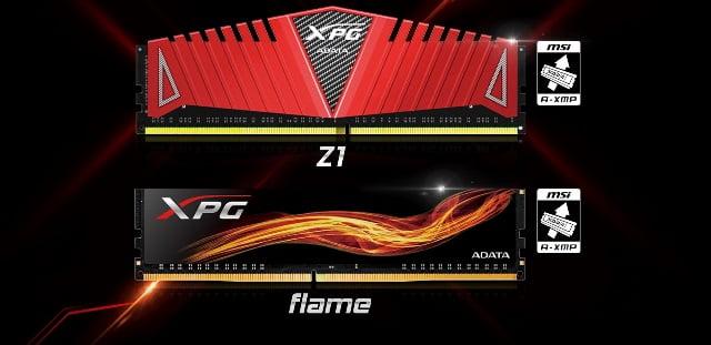 Memoriile ADATA XPG DDR4 sunt compatibile