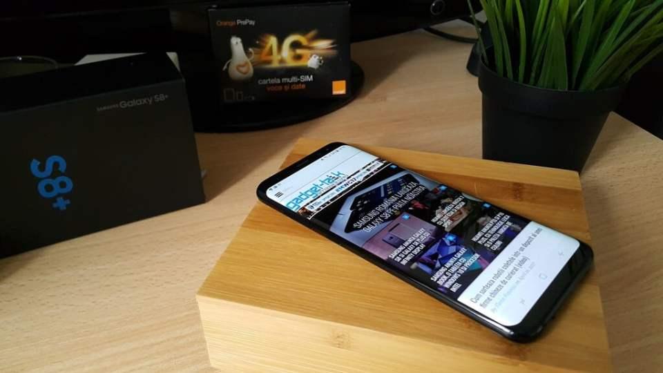 actualizarea telefoanelor Galaxy S8