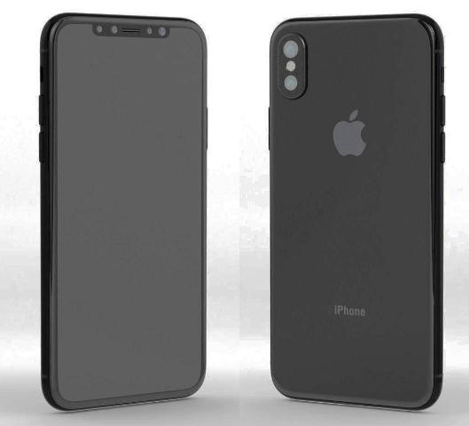 Designul telefonului iPhone 8