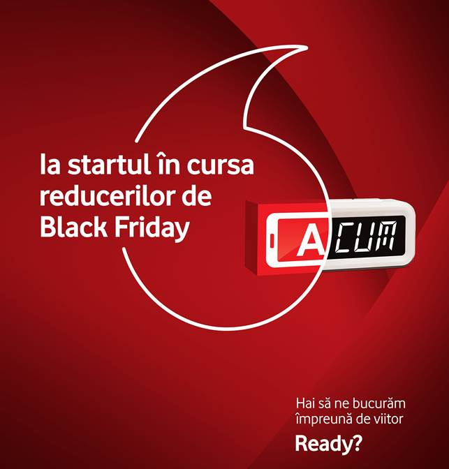 Vodafone anunta oferta de Black Friday