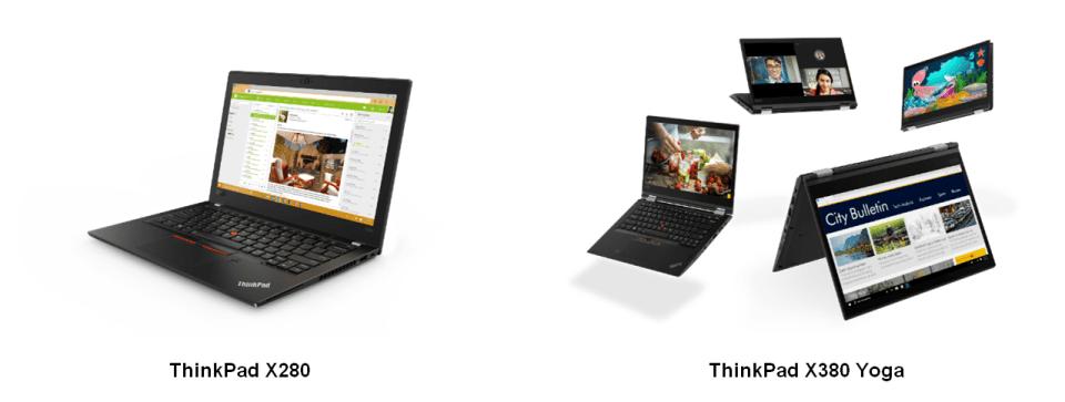 Lenovo lanseaza gama ThinkPad 2018
