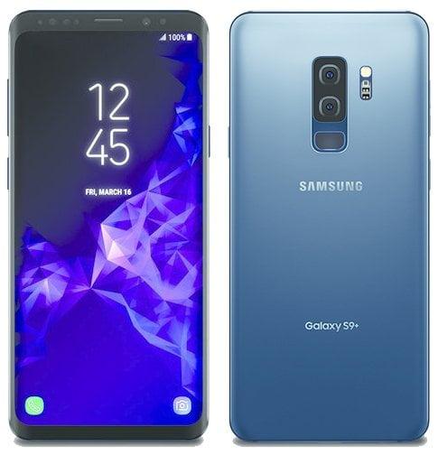 Galaxy S9 Coral Blue si Galaxy S9 Titanium Gray