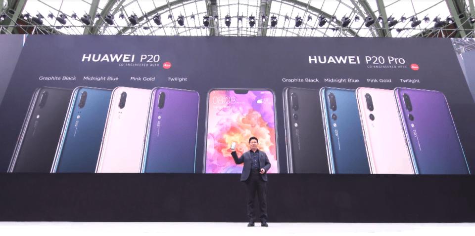 Huawei P20 si P20 Pro