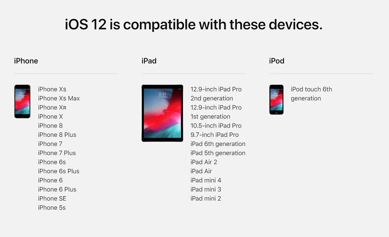 Apple distribuie actualizarea iOS 12