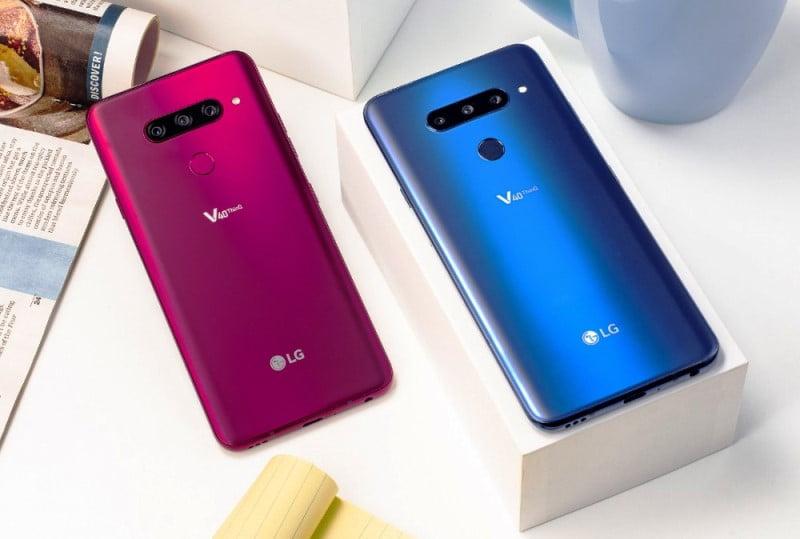 Pretul telefonului LG V40 ThinQ