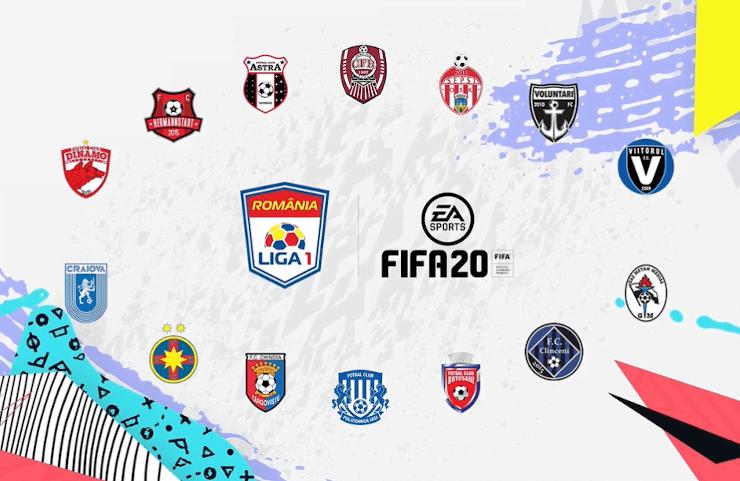 FIFA20 include echipele romanesti