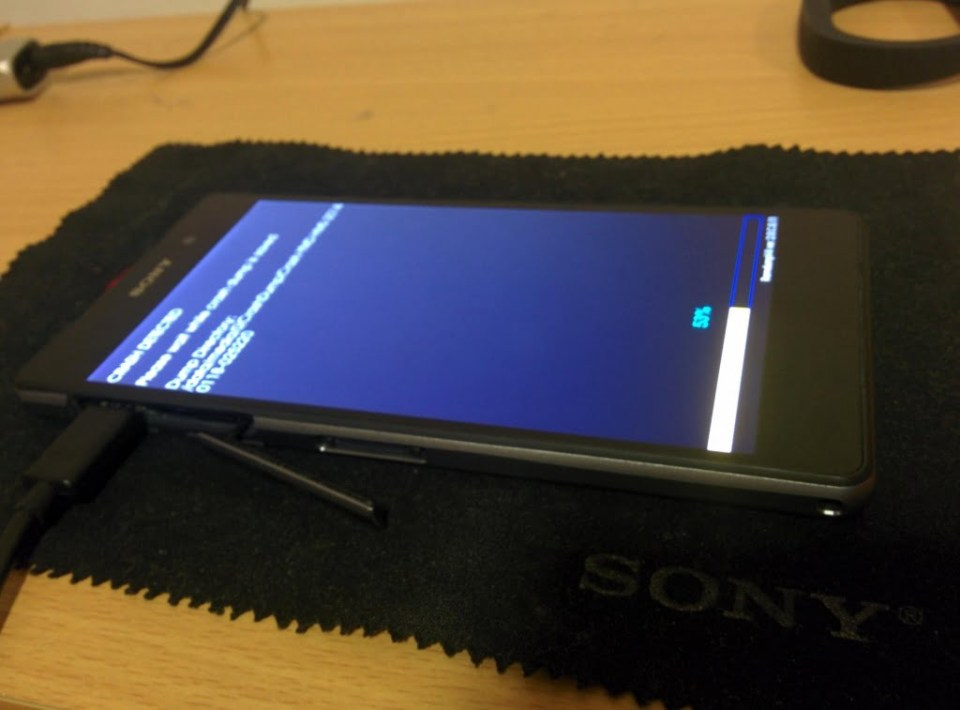 Xperia Z2 hands-on