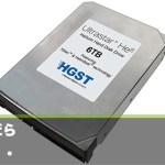 HGST、なんと6TバイトのHDD出荷開始! ヘリウムガス充填で大容量化に成功