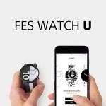 """ソニー、電子ペーパー採用で""""柄を変えられる""""腕時計「FES Watch U」を6月12日発売 アプリでオリジナル柄作成も"""