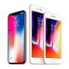 iPhone X←ほーん iPhone 8/8 Plus←は?