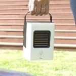 サンコー、外気温から12度冷える提灯みたいなUSB冷風扇を発売