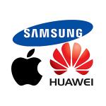 iPhone←高すぎ Huawei←疑惑が多すぎ Galaxy←サムスン