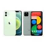 スマホってiPhone、Pixel>>Galaxy>>Xperia、AQUOS>>その他