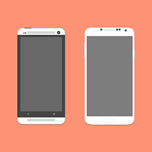 android-phone-s4-and-htc-one-psd