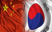 south-korea-china-flag