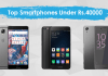 Best top Smartphones Under 40000 in Nepal