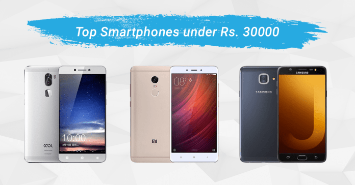 top phones 30000 nepal 2017 edition