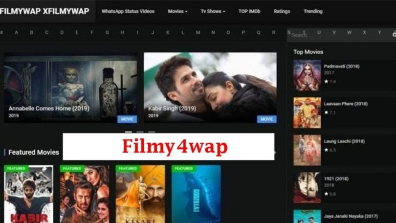 Filmy4wap 2020: Filmy4wap Download Latest Bollywood Hollywood Movies Illegaly.
