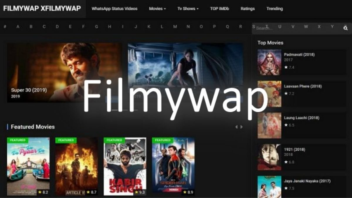 Filmywap 2021 Website: Bollywood, Hollywood, Punjabi HD Movies Download on Filmywap