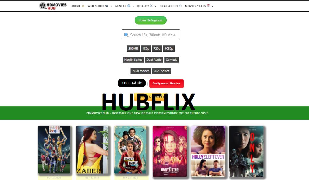 HubFlix - HdMoviesHub - 300mb Movies, 720p Movies, Hindi ...
