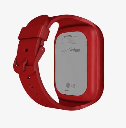 LG Verizon GizmoGadget Red