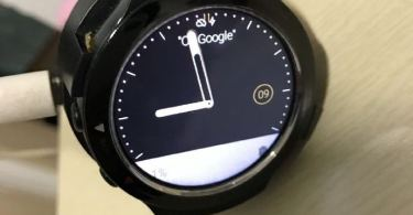 HTC Android Wear smart watch