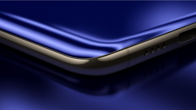 Xiaomi Mi 6 design on the round edge