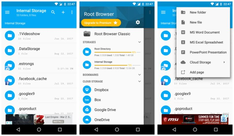 Root Browser File Manager app