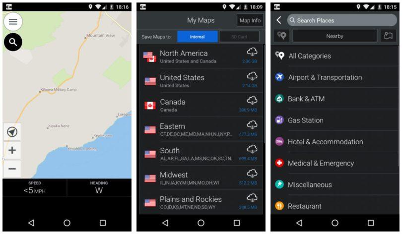 CoPilot GPS Navigation and Offline Maps