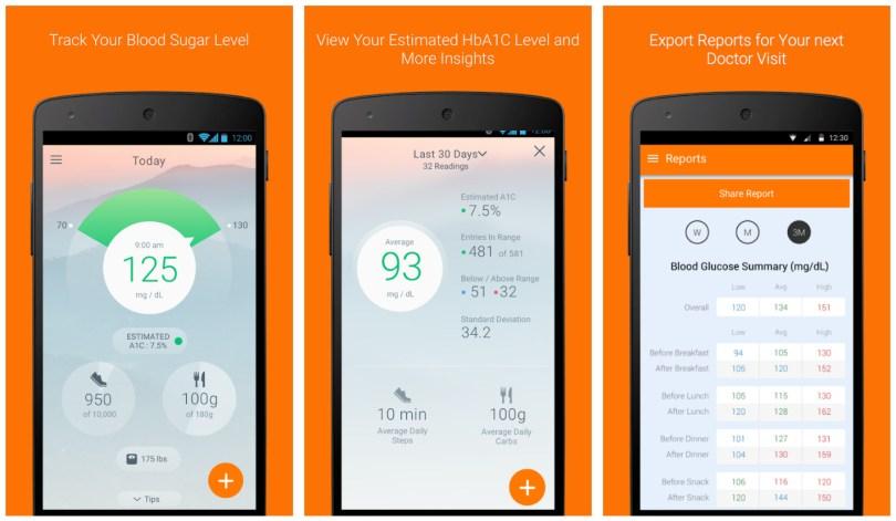 Sugar Sense app for diabetes