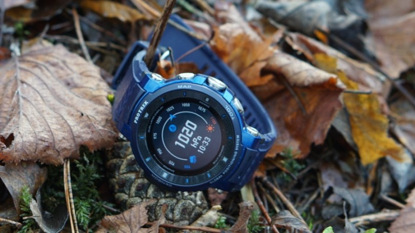 Casio Pro Trek WSD F30 smartwatch hands on review